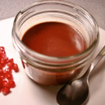 Dark Chocolate Pots de Creme