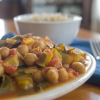 Chana Masala for a Quick and Easy Vegan Dinner